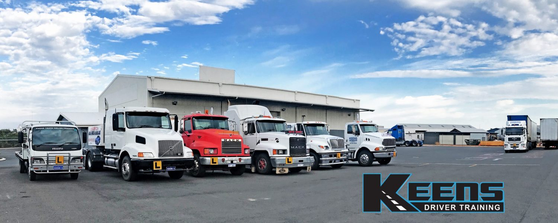 Keens Truck Driver Training Bunbury